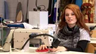 Videomluvčí šití oděvů