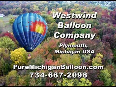Hot Air Balloon Ride Michigan ~ Balloon Flights ~ Ann Arbor Balloon Co