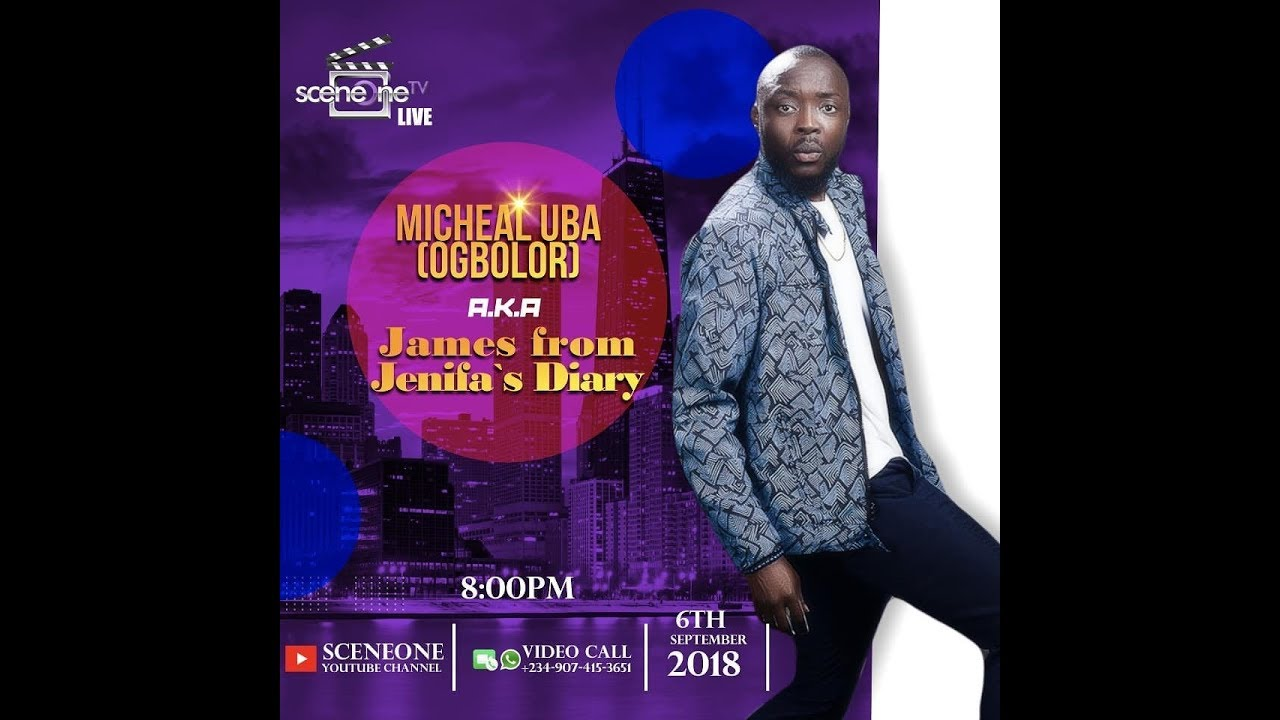 Download SceneoneTv Live with Ogbolor James of Jenifer's Diary