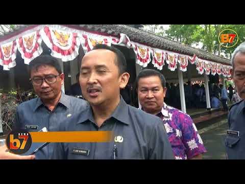Banten7 - WAKIL BUPATI LEBAK, ADE SUMARDI LANTIK 369 PNS