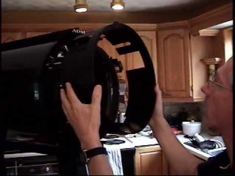 Nettoyage des optiques internes des telescopes meade rcx for Nettoyer miroir telescope