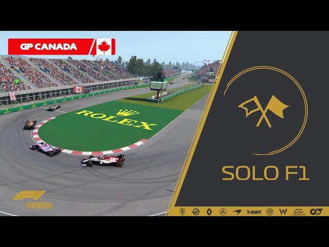 🔴 F1 2020 // Retransmisión SoloF1 (Gp Canadá)