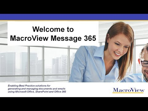 Welcome To MacroView Message 365