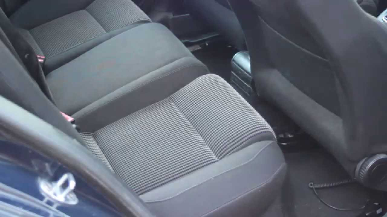 Removing Rear Seats From Vw Golf How To Unclip Seat