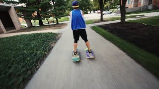 Repeat youtube video The BEST/WORST way to get around a College Campus... || Kent Heckel