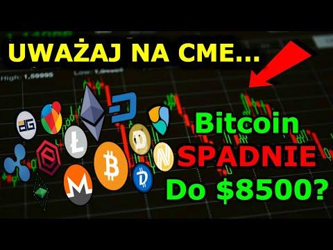 Cena Bitcoina Wykres Pokazuje Spadek Do $8500 Czy Kryptowaluty Wzrosną?
