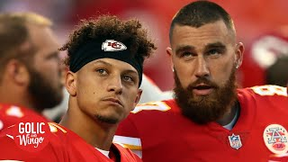 Travis Kelce on Patrick Mahomes' injury and brother Jason's ESPN Body Issue photos | Golic and Wingo