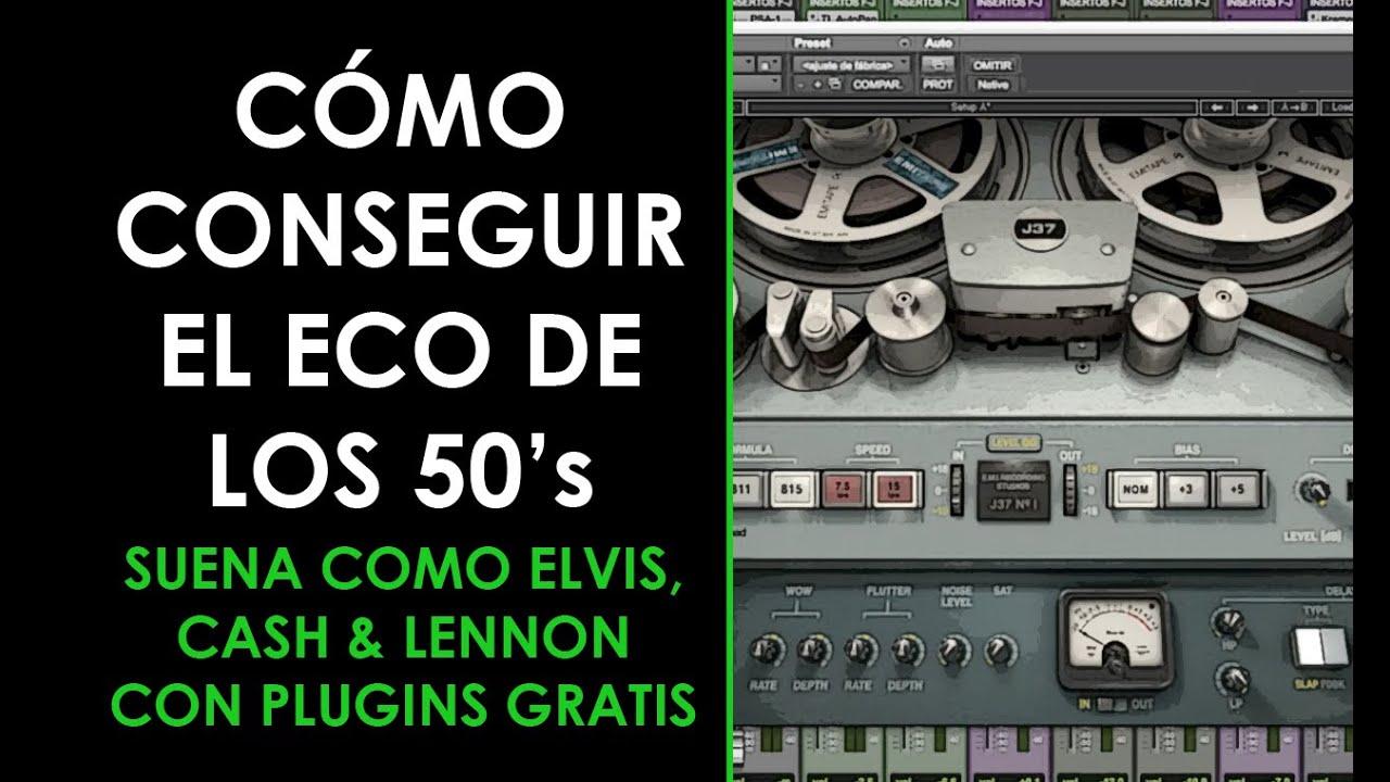 Download Cómo aplicar el ECO 50's a tus VOCES (Elvis, Cash, Lennon...) - ProduceAudio.net