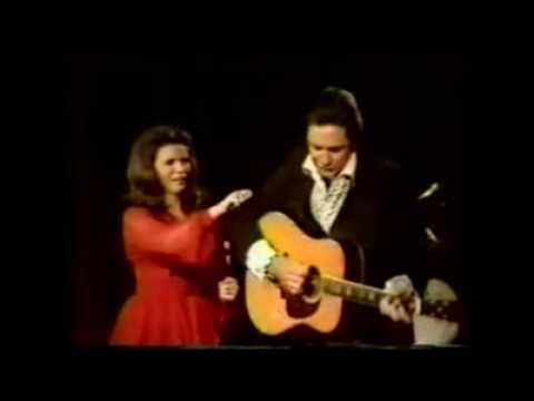 Johnny Cash June Carter Jackson Live Youtube