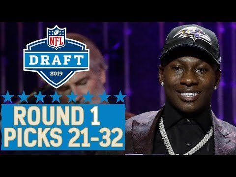 Picks 21-32: Star WRs Cousin, Team Trades Back into 1st Round & More   2019 NFL Draft