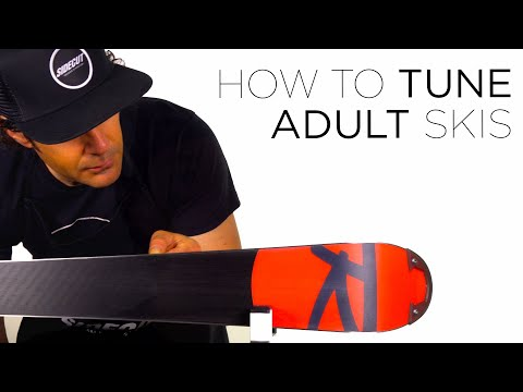 How To Tune ADULT Skis