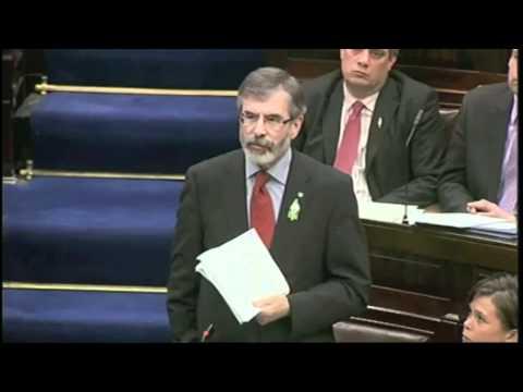 Adams speech to Dáil 9th March 11.m4v