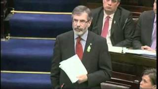 Adams speech to Dáil 9th March 11.m4v