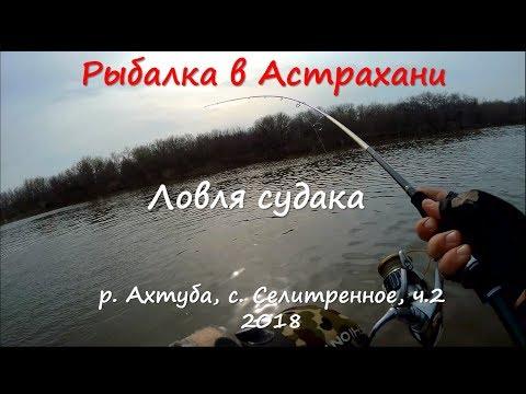 Рыбалка в Астрахани.Харабали, с.Селитренное. Апрель 2018. Ловля судака