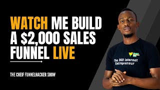 How To build a $2,000 Sales Funnel for a Digital Product From Scratch Using Wordpress [Webinar]