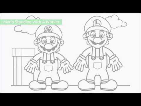 Top 20 Gratis Stampabile Super Mario Da Colorare Pagine Da Stampare