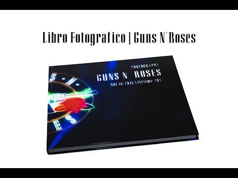 Libro Fotográfico   Guns N´Roses