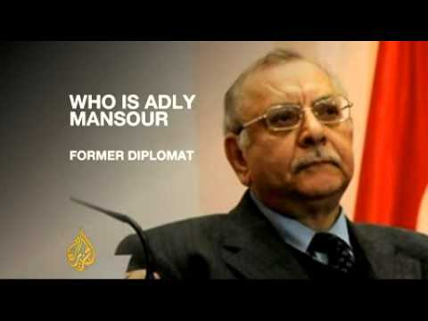 Profile  Egypt's interim leader Adly Mansour