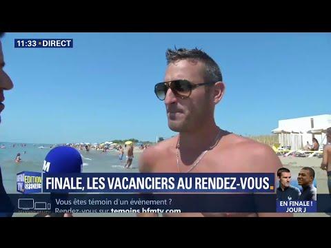 """France-Croatie: """"Ce soir, je fais ma demande en mariage après la victoire des Bleus"""""""