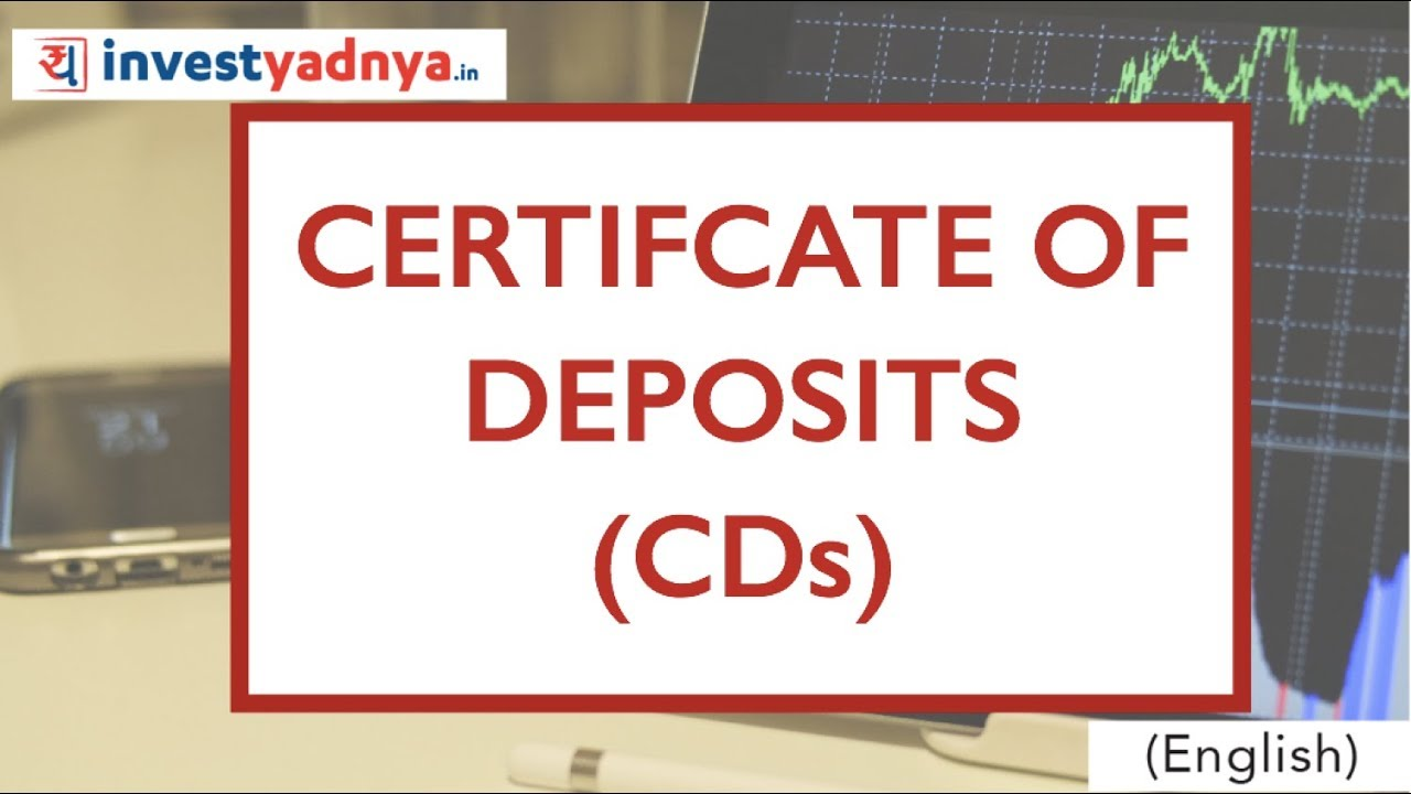What Is Certificate Of Deposit Cds Features Interest
