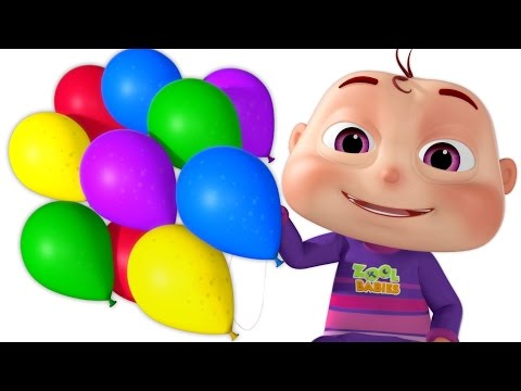 Thumbnail: Five Little Babies Blowing A Balloon | And Many More Baby Songs | 3D Rhymes For Children