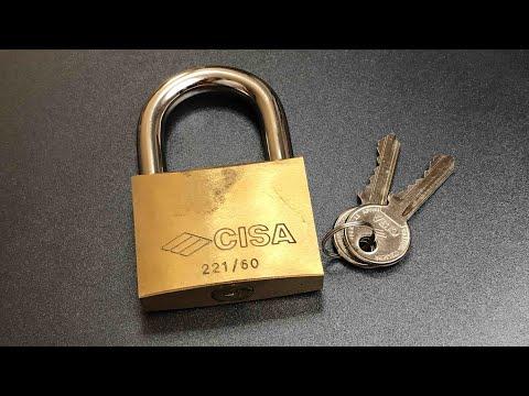 Взлом отмычками CISA 221/60  [544] Cisa 221/60