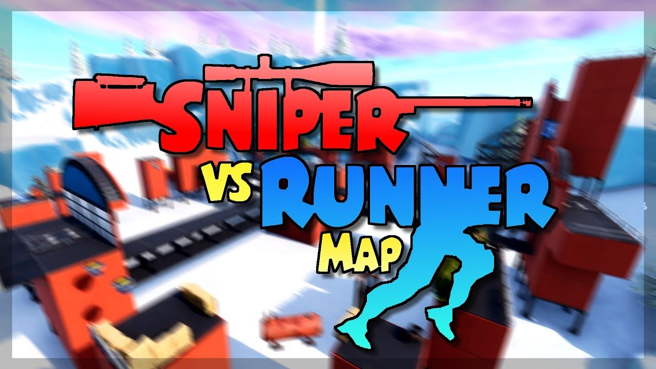 Sniper Vs Runner Map Code Trailer Fortnite Kreativmodus