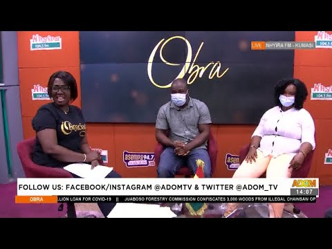 My husband never had s3x with me for 4 years now - Obra on Adom TV (7-7-21)