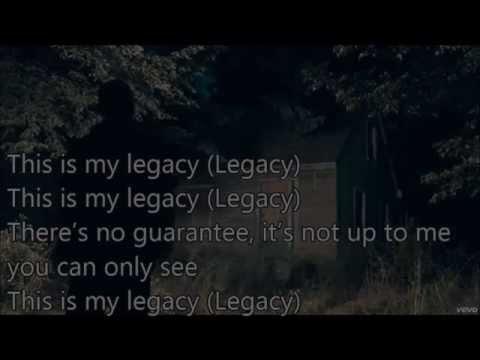 Eminem - Legacy Lyrics ORIGINAL SONG