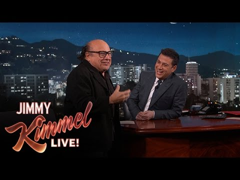Danny DeVito & Jimmy Kimmel on Being Altar Boys