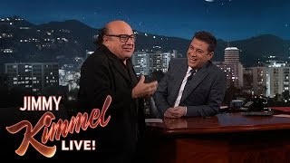 Danny DeVito & Jimmy Kimmel on Being Altar Boys