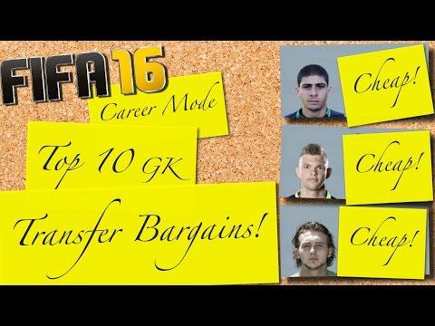 FIFA 16   Top 10 GK Transfer Bargains   Career Mode
