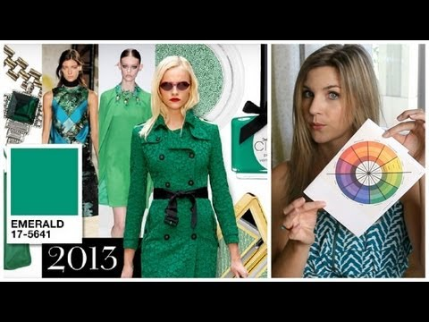 Color Theory: How to use Emerald, Pantone Color of the Year