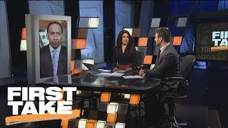 Does Brandon Marshall Elevate New York Giants As Super Bowl Contenders?   First Take   March 8, 2017