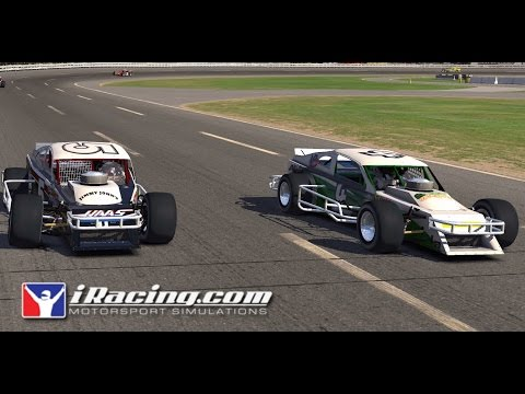 iRacing - SK Modified at Stafford Motor Speedway