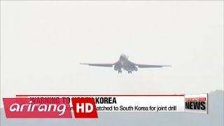 رداً على تجارب كوريا الشمالية.. شاهد قاذفات أميركية تجري مناورة بالذخيرة الحية في كوريا الجنوبية.. وهذا ما تدربت على تدميره