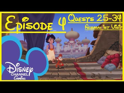 Kingdom Hearts Union χ [Cross] Story Part 4: Agrabah 1st Visit (Quests 25-34) No Commentary