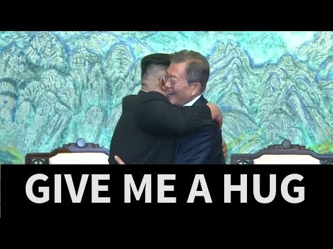 North and South Korea agree to goal of 'complete denuclearisation'