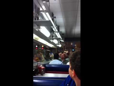 Fritz burger train in KC