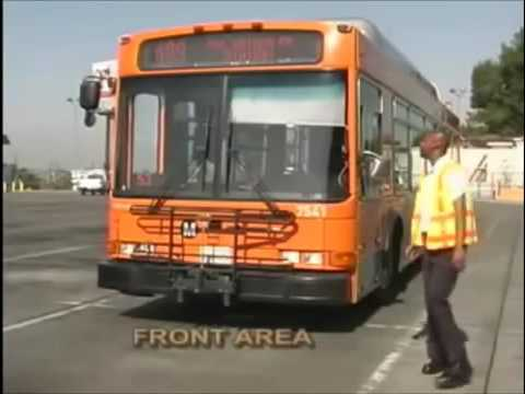 MTA Metro Pre Trip Inspection for Bus Operator Trainee at LACMTA - Los Angeles OCI