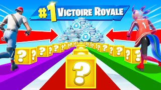LUCKY BLOCK CHALLENGE pour V-Bucks FORTNITE
