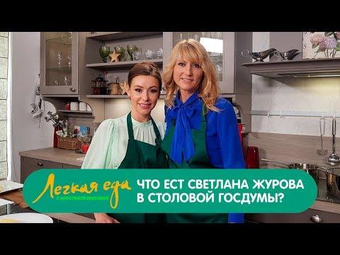 Легкая еда: Что ест Светлана Журова в столовой Госдумы?