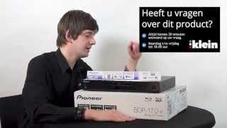 Pioneer BDP 170 Blu-ray speler bij Klein