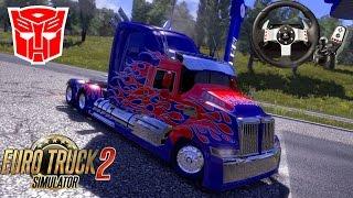 Direksiyon Seti ile ETS 2 // Optimus Prime[Marik Tırı Ele Geçiriyor]