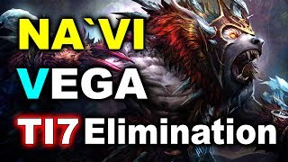NAVI vs VEGA - Last Slot! Elimination Fight - TI7 CIS Qualifiers DOTA 2