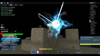CLASHING!!! Lightning vs Light and Lightning vs Lightning! - Roblox Arcane Adventures