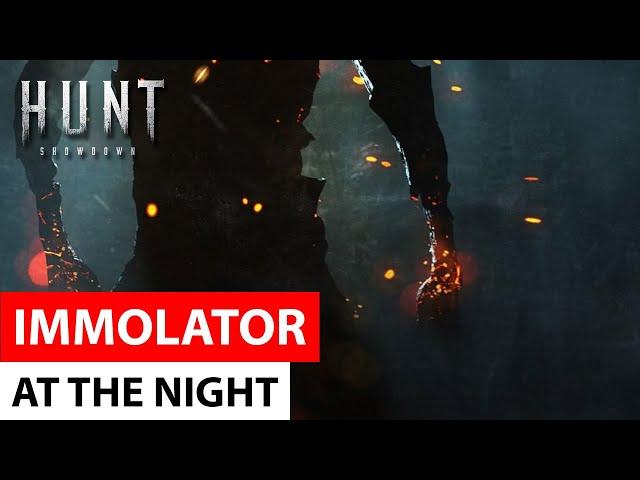 Hunt: Showdown - Immolator at the Night   зрелищный Immolator, атакующий в ночи