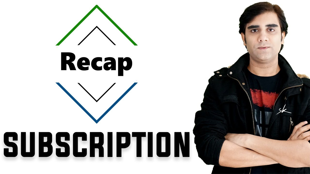 Demand Supply Trading : What is Recap Subscription ?