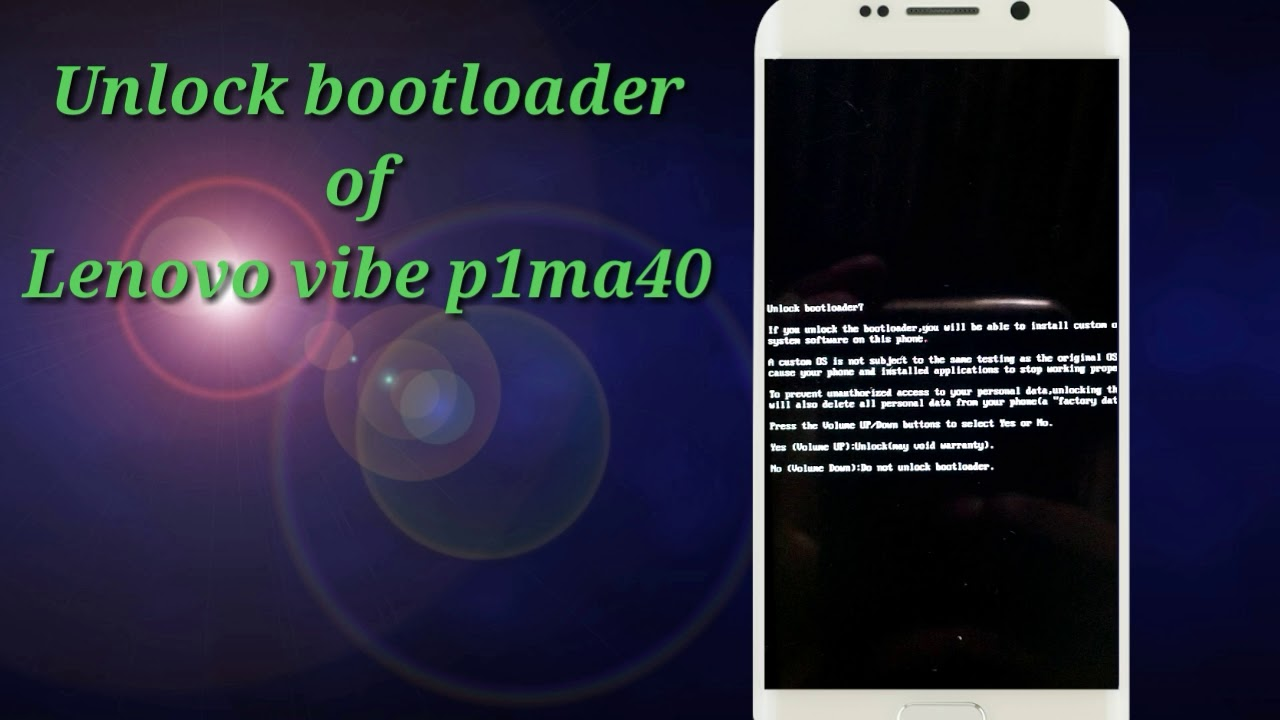 How to unlock bootloader of Lenovo mobiles