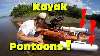 Kayak Giveaway Part 6: Attaching the Pontoons